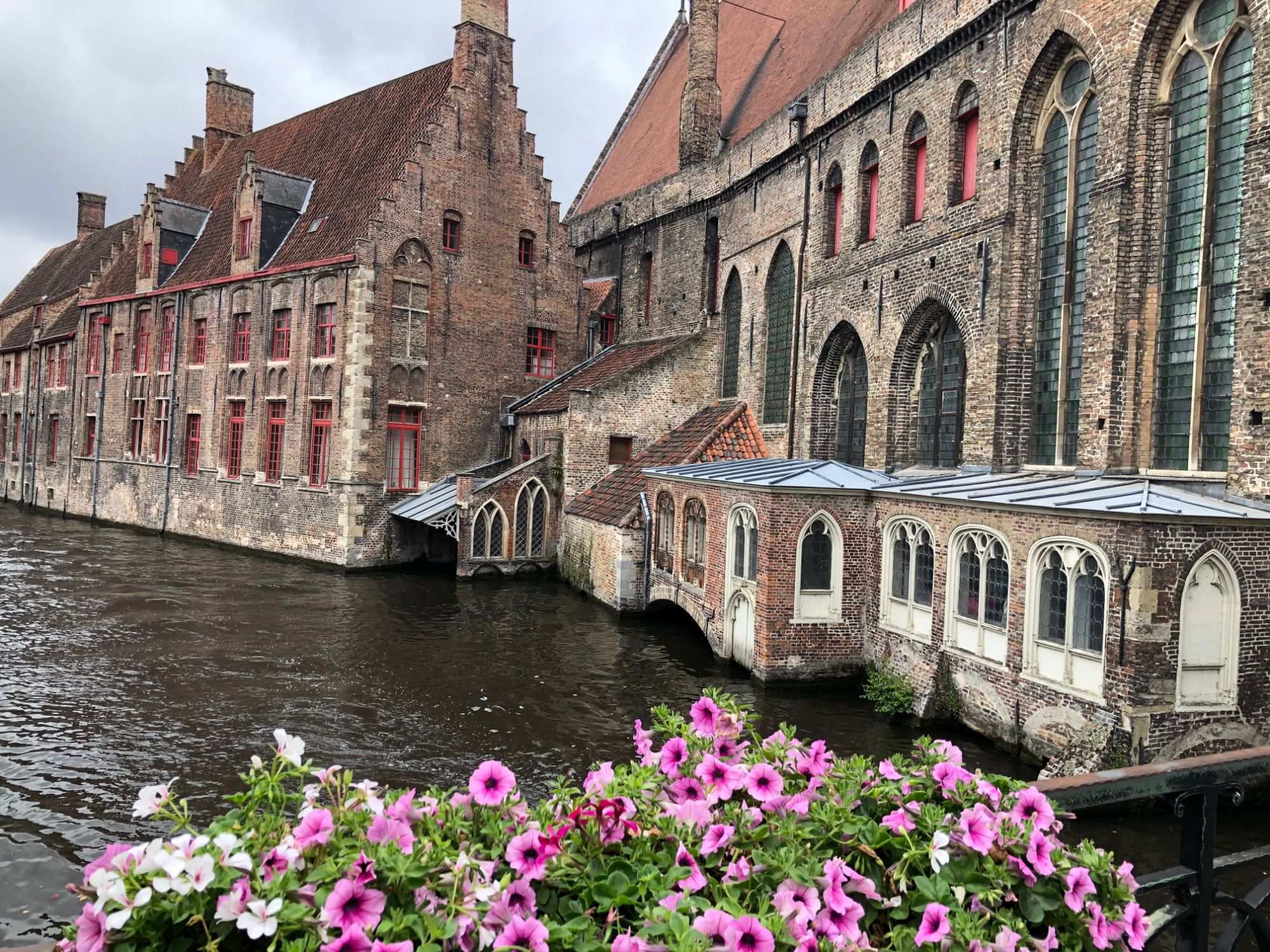 Free stock photo Bruges Belgium canal architecture buildings