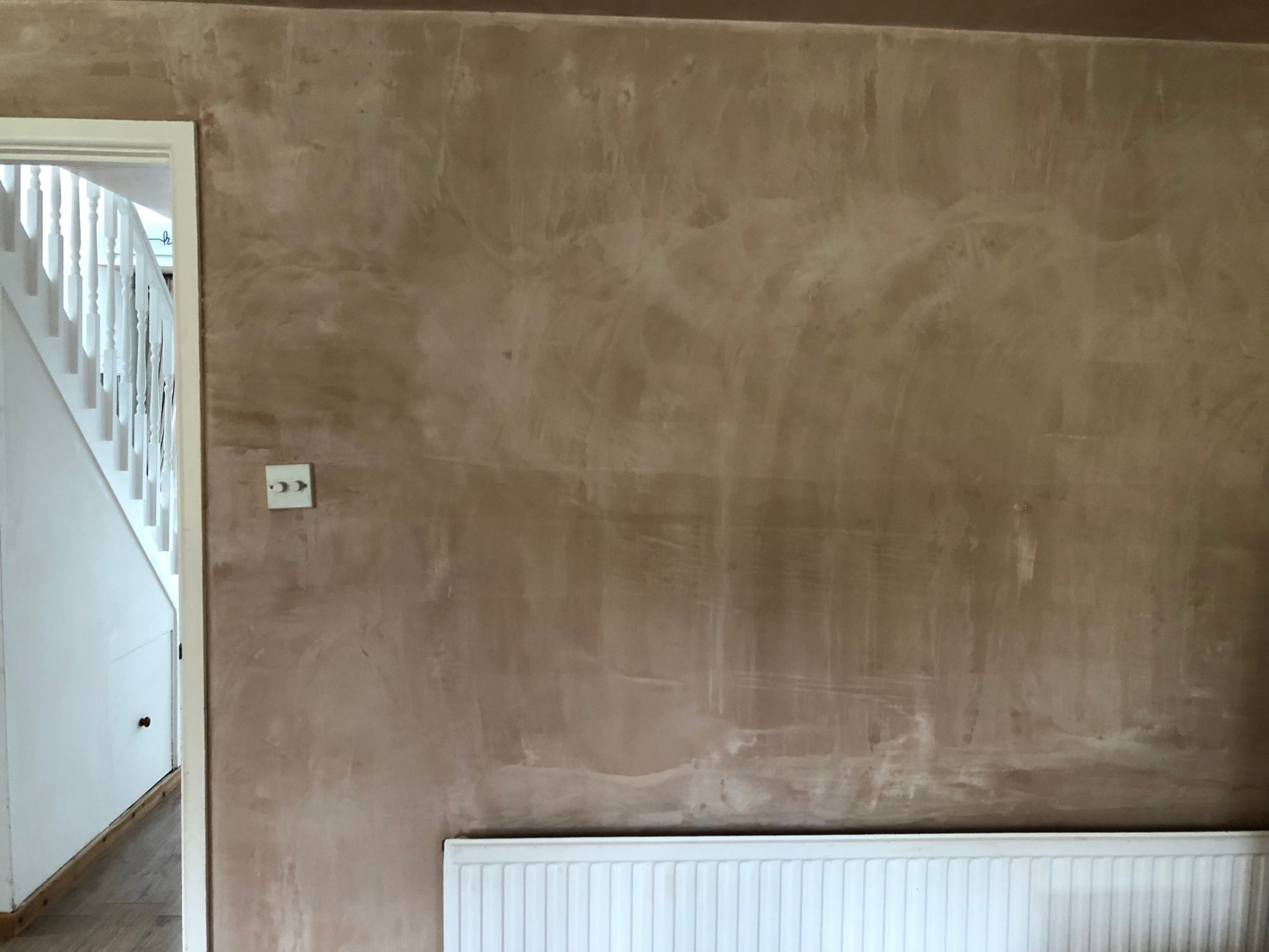 Free stock photo plaster wall replastering