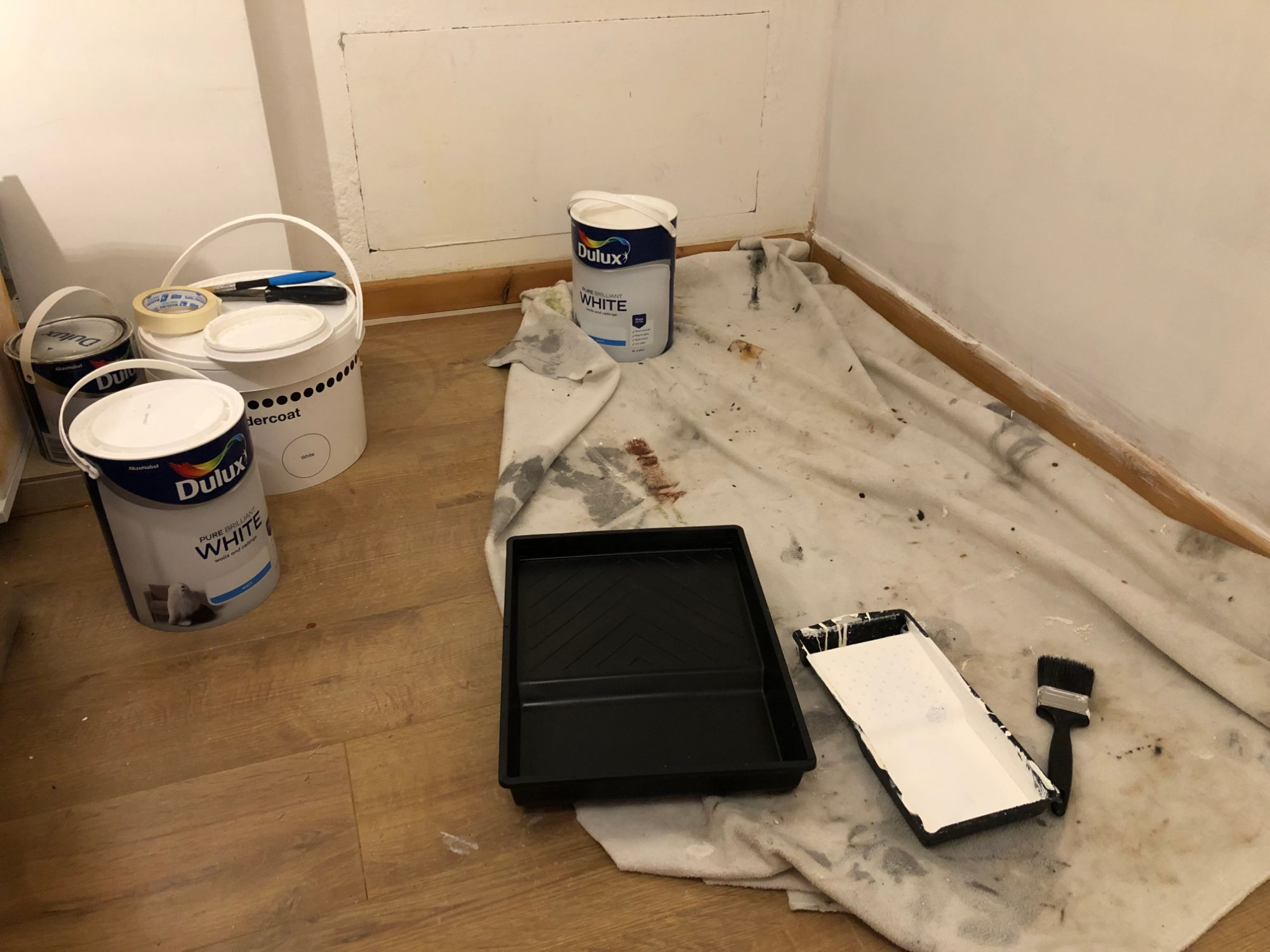 Free stock photo DIY painting decorating