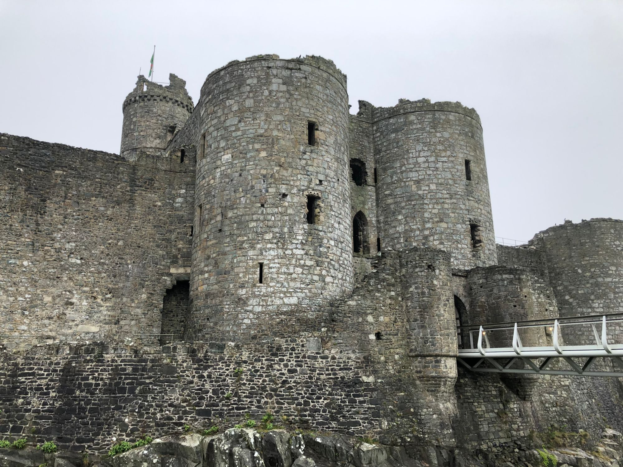Free stock photo castle Wales