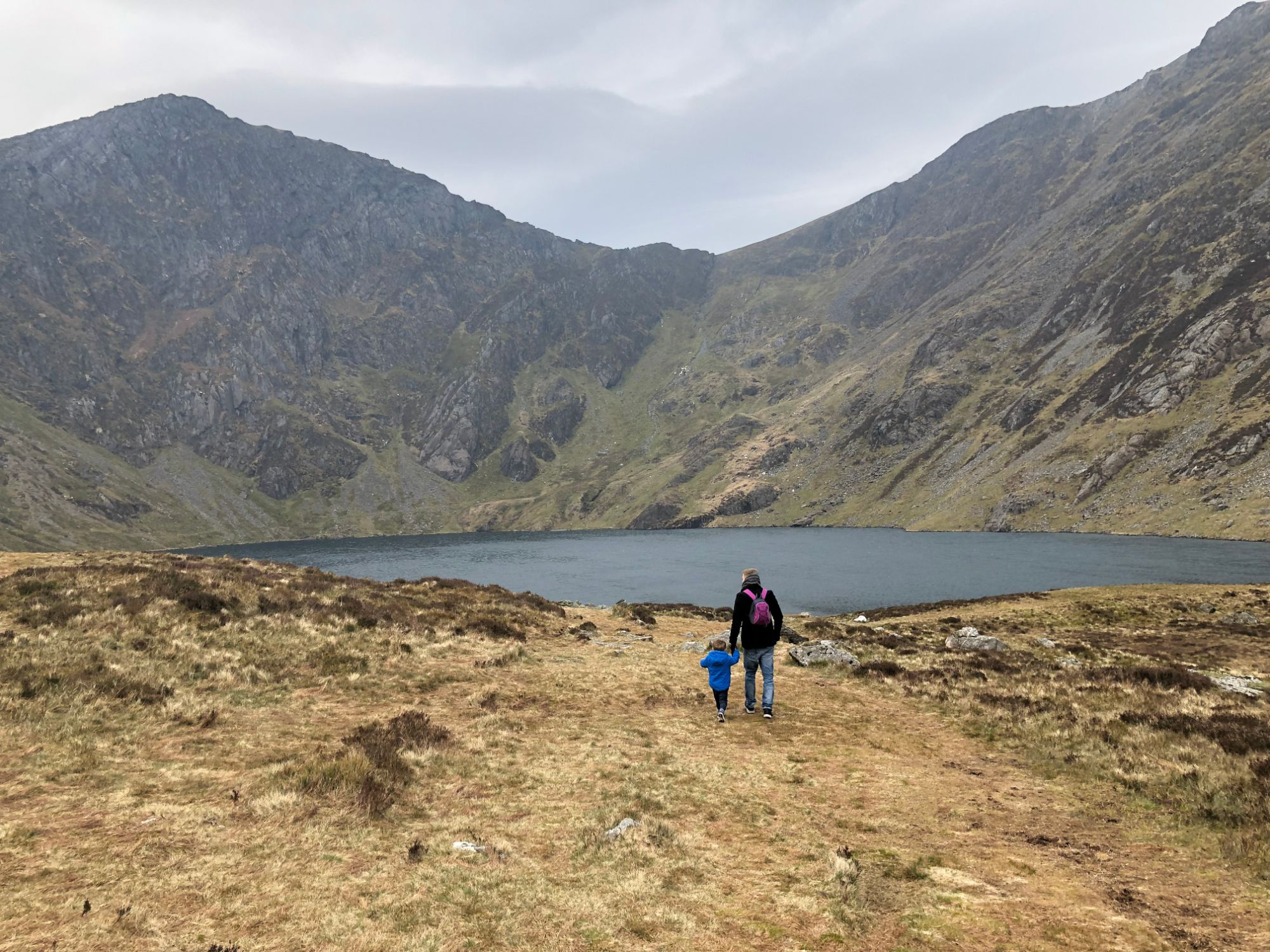 Free stock photo Cadair Idris Mountain Snowdonia Wales lake
