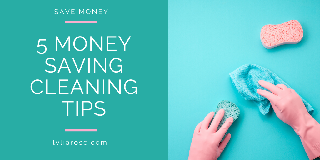 5 money saving tips to cut household cleaning costs