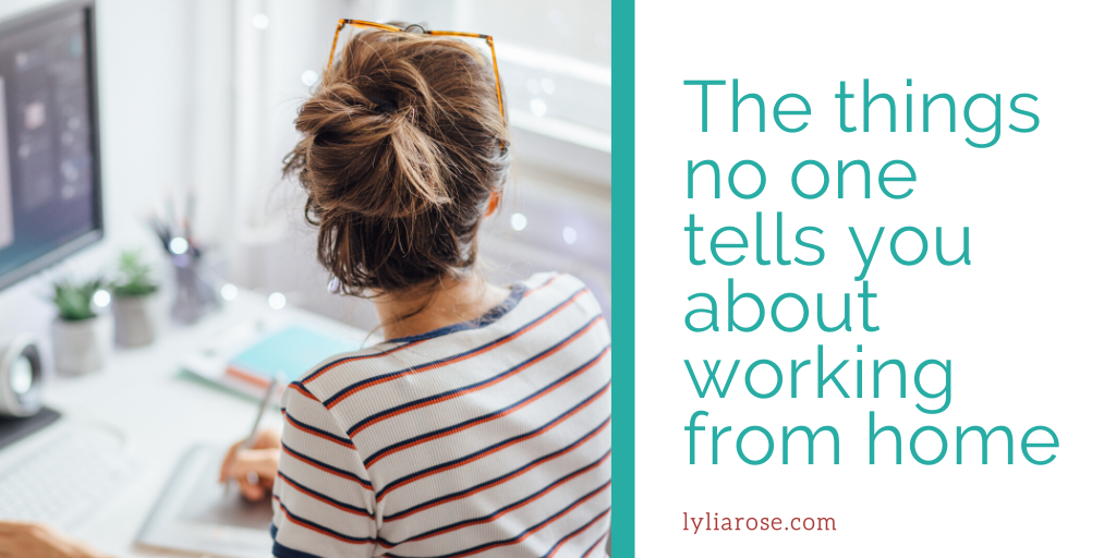 The things no one tells you about working from home