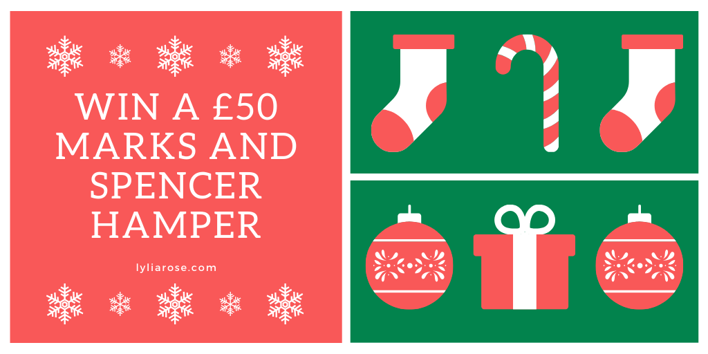 Blog giveaway_ win a £50 Marks and Spencer hamper