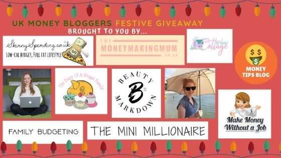 7 UK Money Bloggers Festive Giveaway Win a M&S Hamper