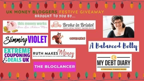 8 UK Money Bloggers Festive Giveaway Win a M&S Hamper