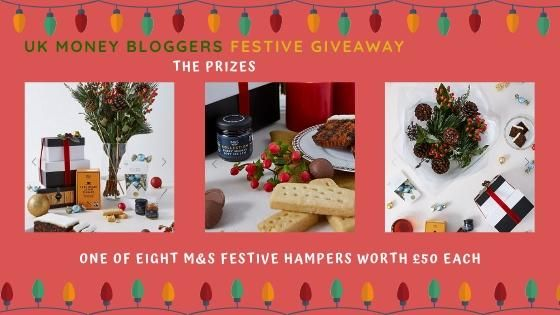 9 UK Money Bloggers Festive Giveaway Win a M&S Hamper