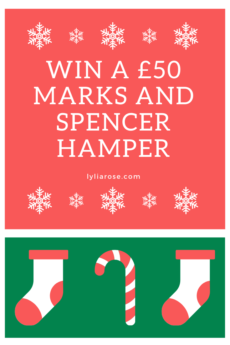 win a £50 Marks and Spencer hamper