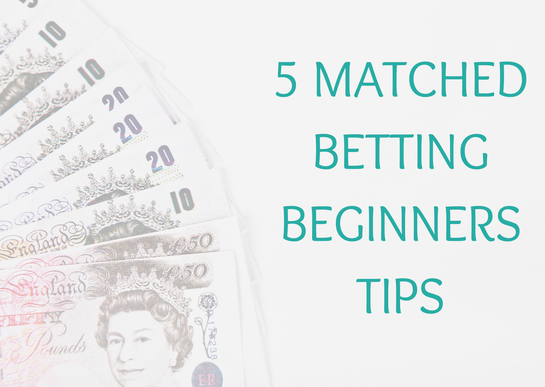 5 matched betting beginners tips