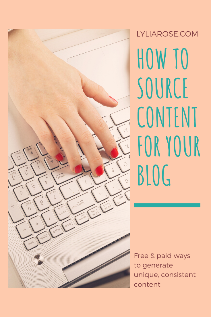 How to source content for your blog (1)