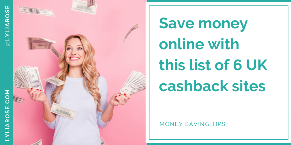 Save money online with this list of UK cashback sites