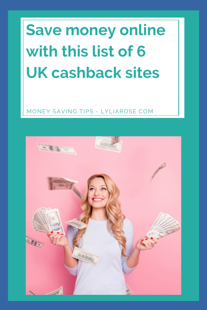 Save money online with this list of UK cashback sites (1)