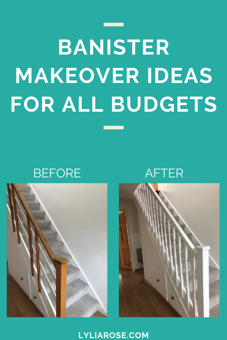 Banister makeover ideas for all budgets