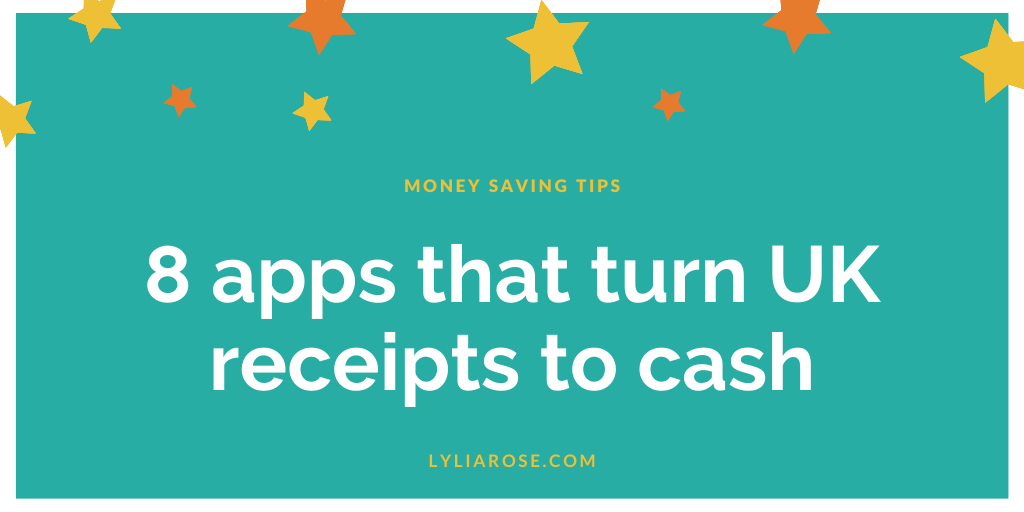 List of 8 apps that turn UK receipts to cash