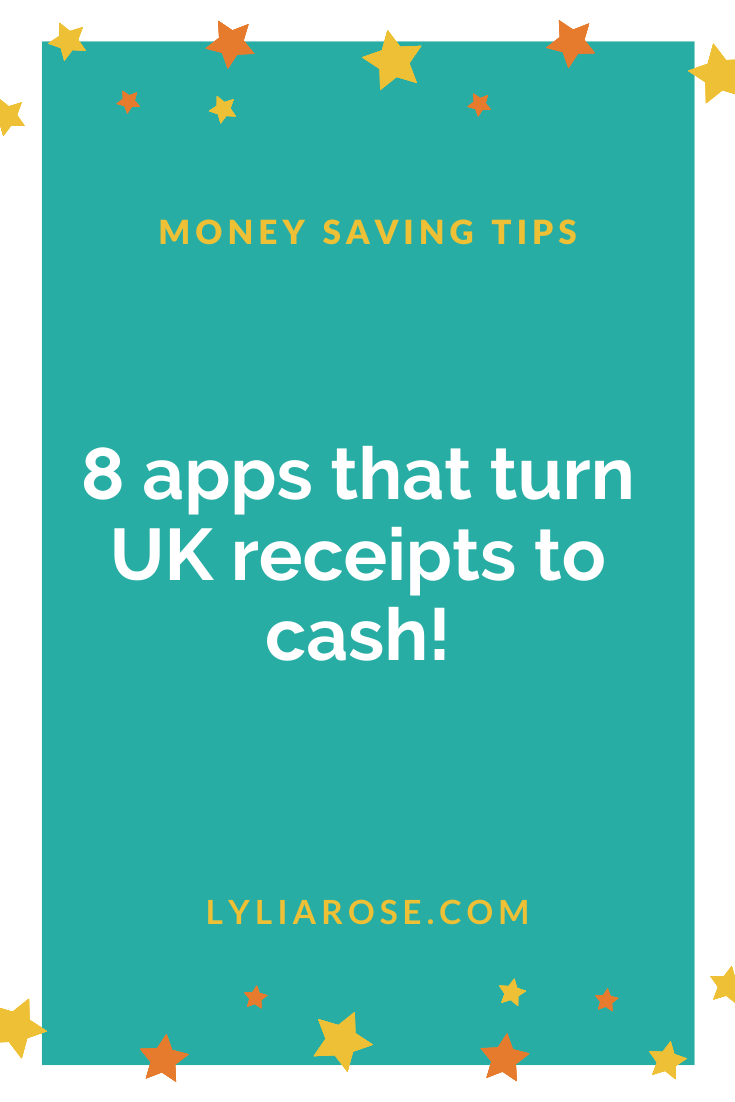 List of 8 apps that turn UK receipts to cash (1)