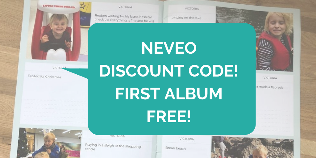 Neveo discount code - get your first album free (1)