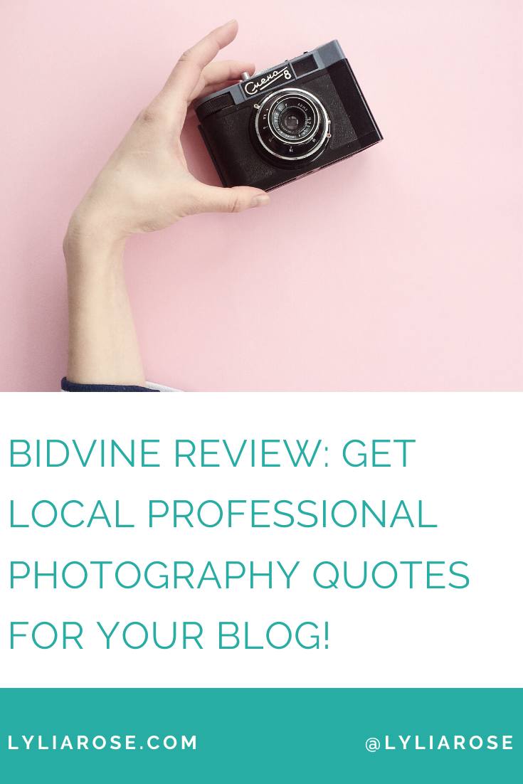 Bidvine review_ how to get local professional photography quotes for your b