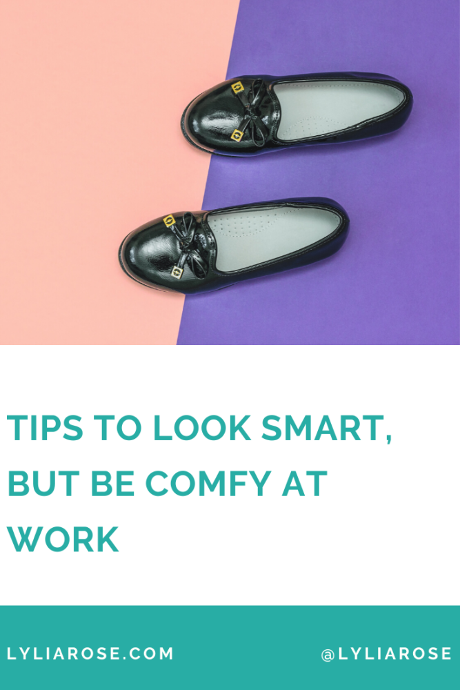 tips to look smart, but be comfy at work (1)