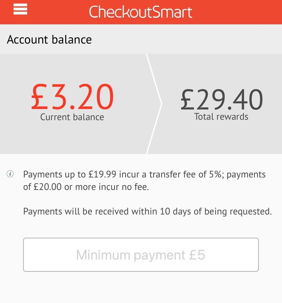 Save money at the supermarket with CheckoutSmart cashback