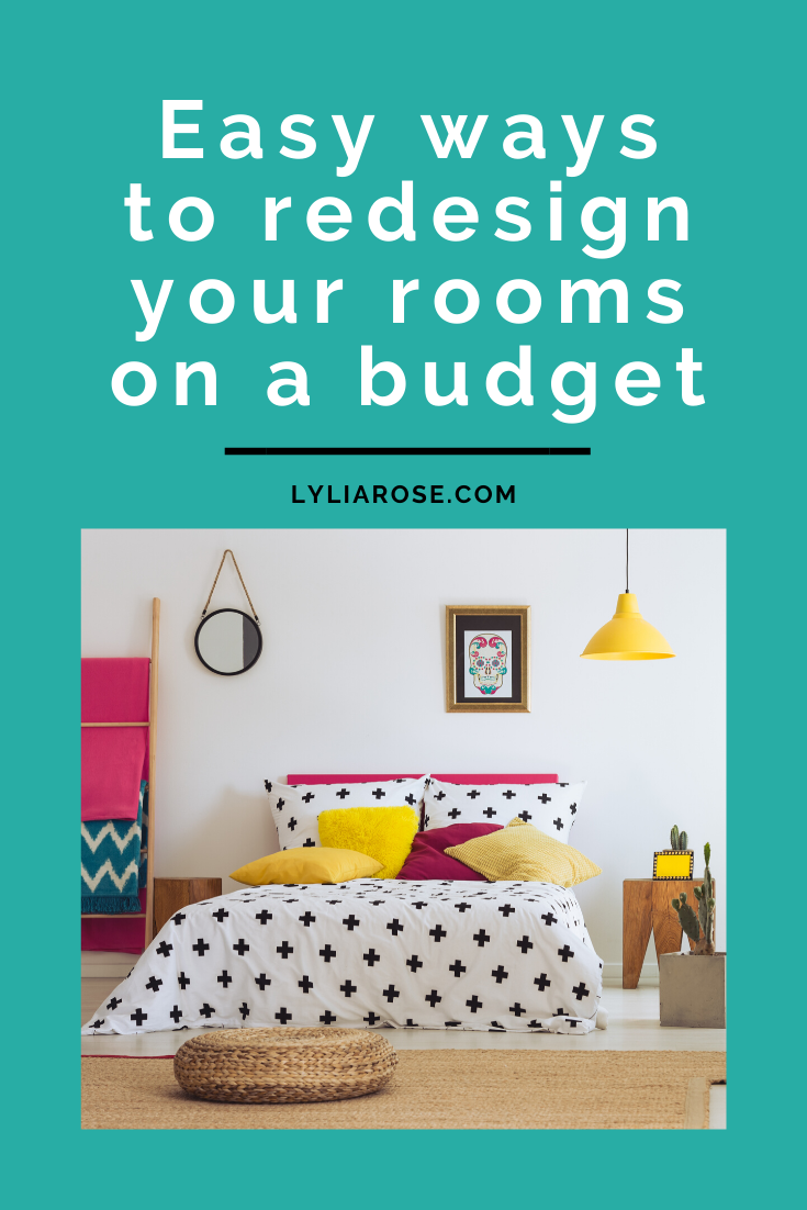 Quick + easy ways to redesign your rooms on a budget (1)