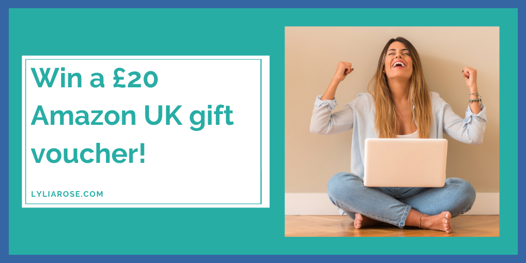 Win a £20 Amazon UK gift voucher to spend on whatever you want!