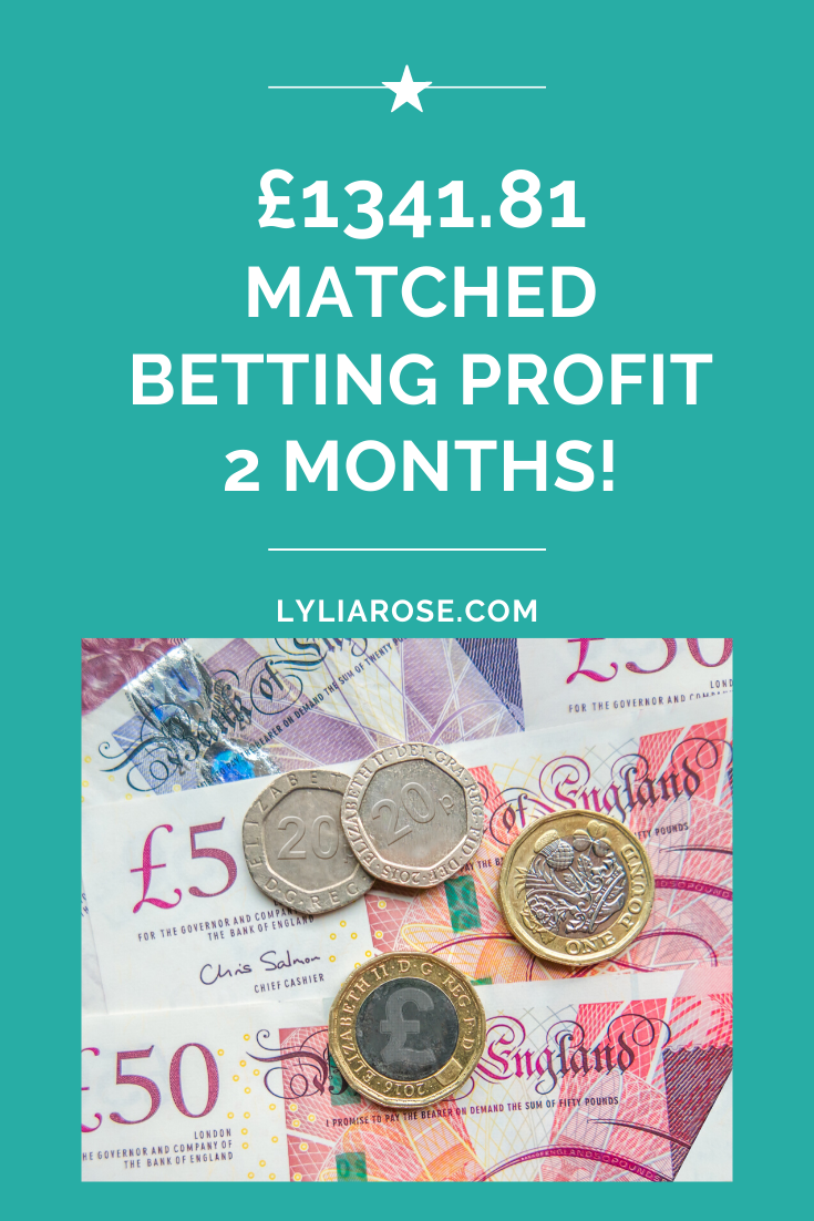 Matched betting blog diary_ 2 month profit £1341.81
