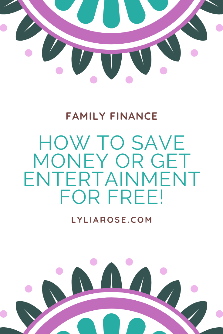 How to save money or get entertainment for free