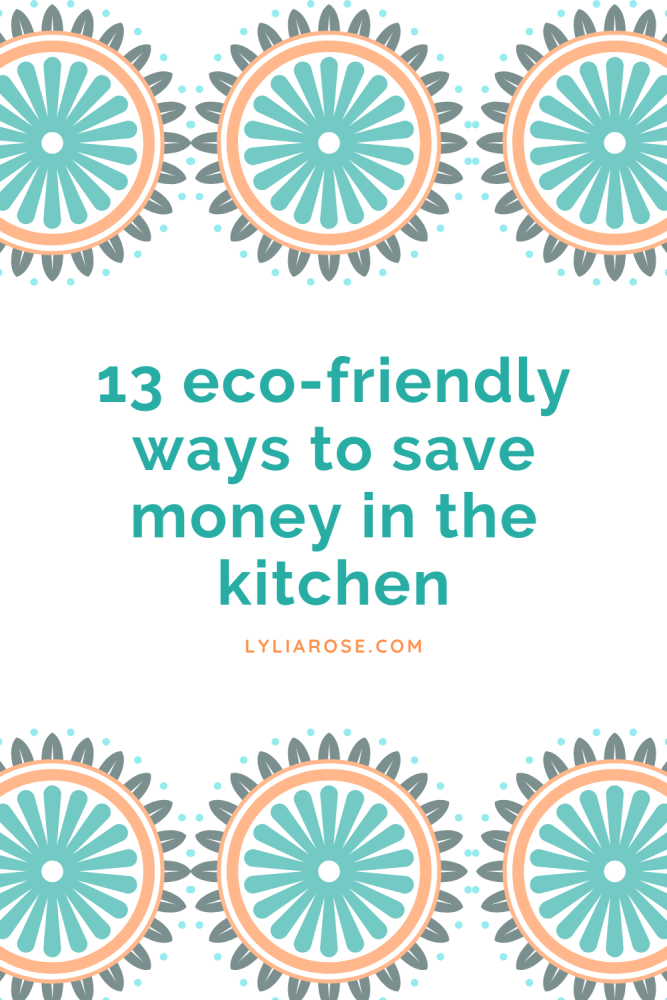 Copy of 13 eco-friendly ways to start saving money in the kitchen