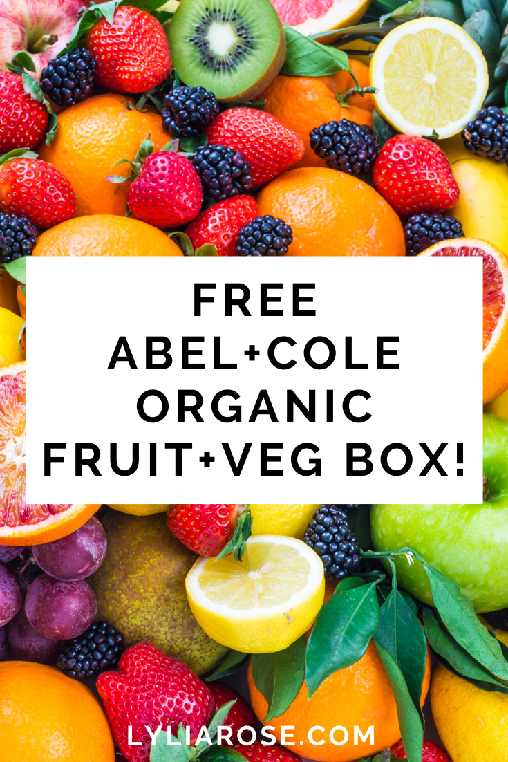 Free Abel+Cole Organic FRUIT+Veg Box! (3)