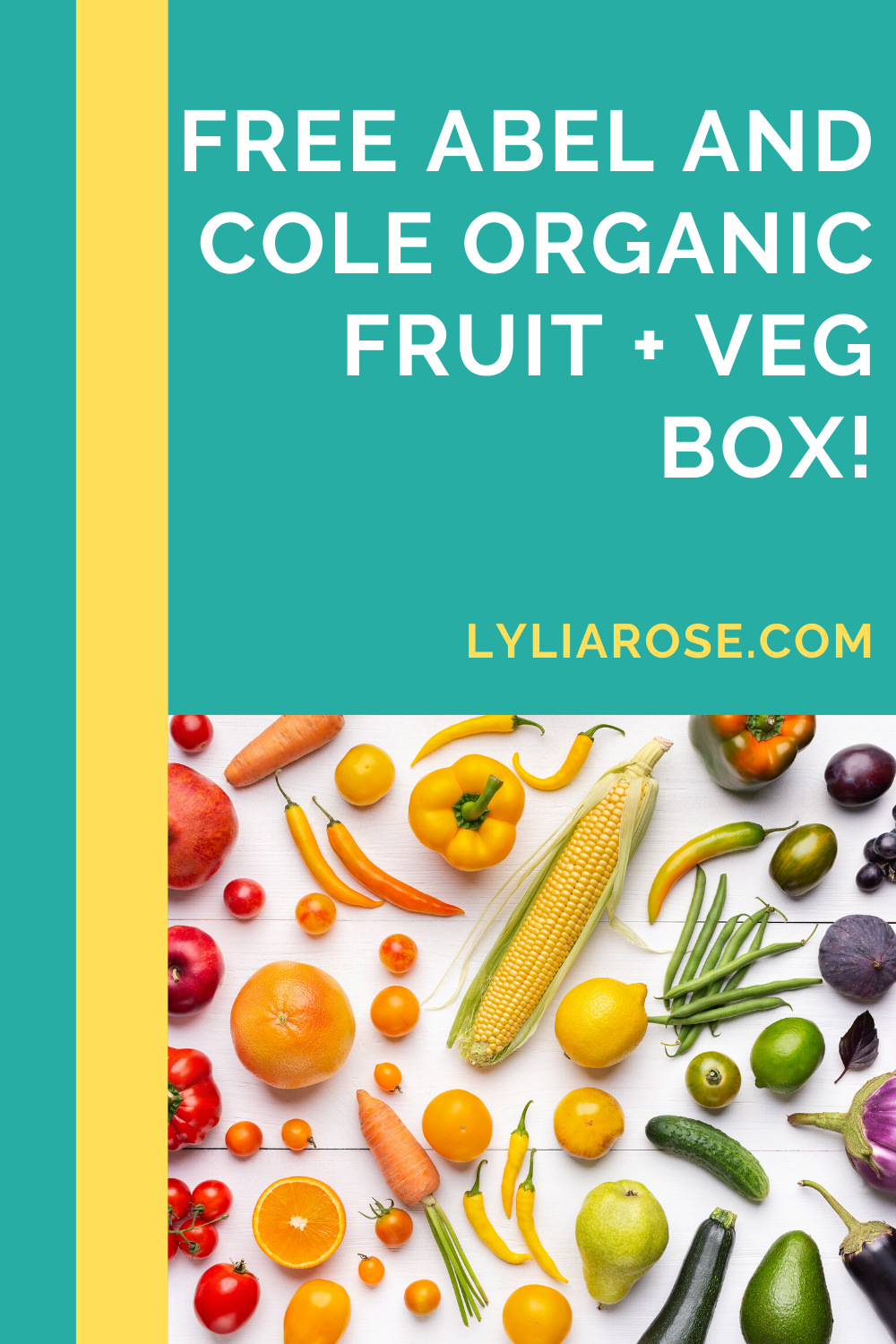 Get a Free Abel And Cole Organic Fruit + Veg Box!