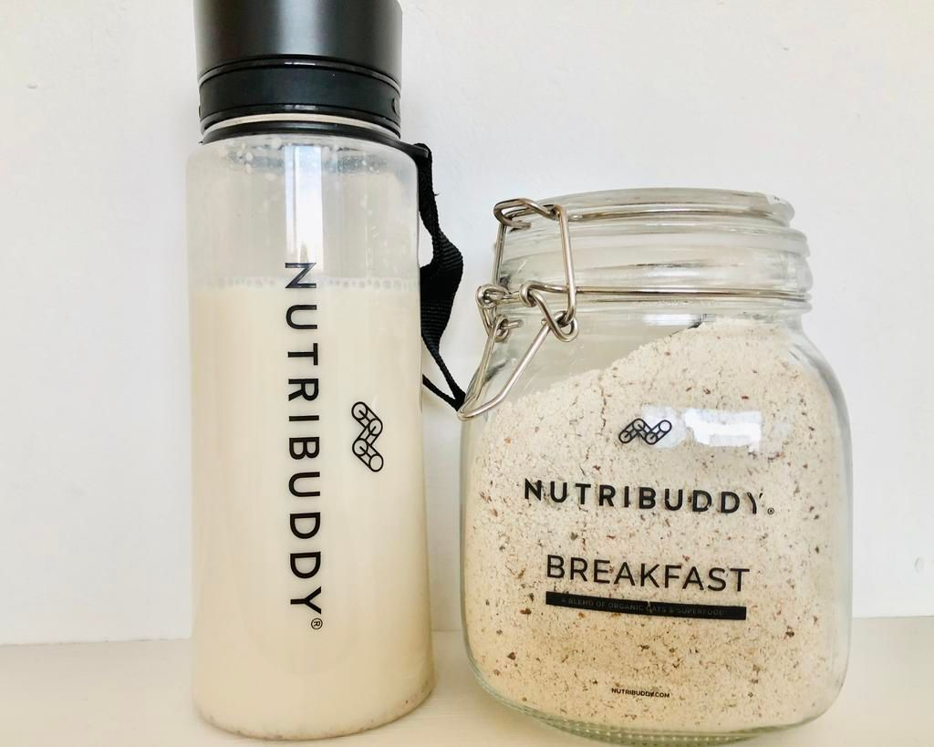Nutribuddy review - Healthy, vegan + gluten-free meal replacement shakes fo
