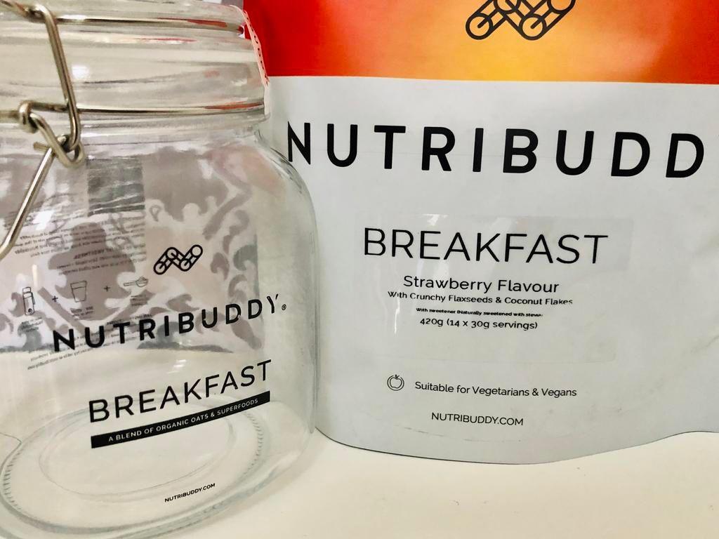 nutribuddy breakfast shake