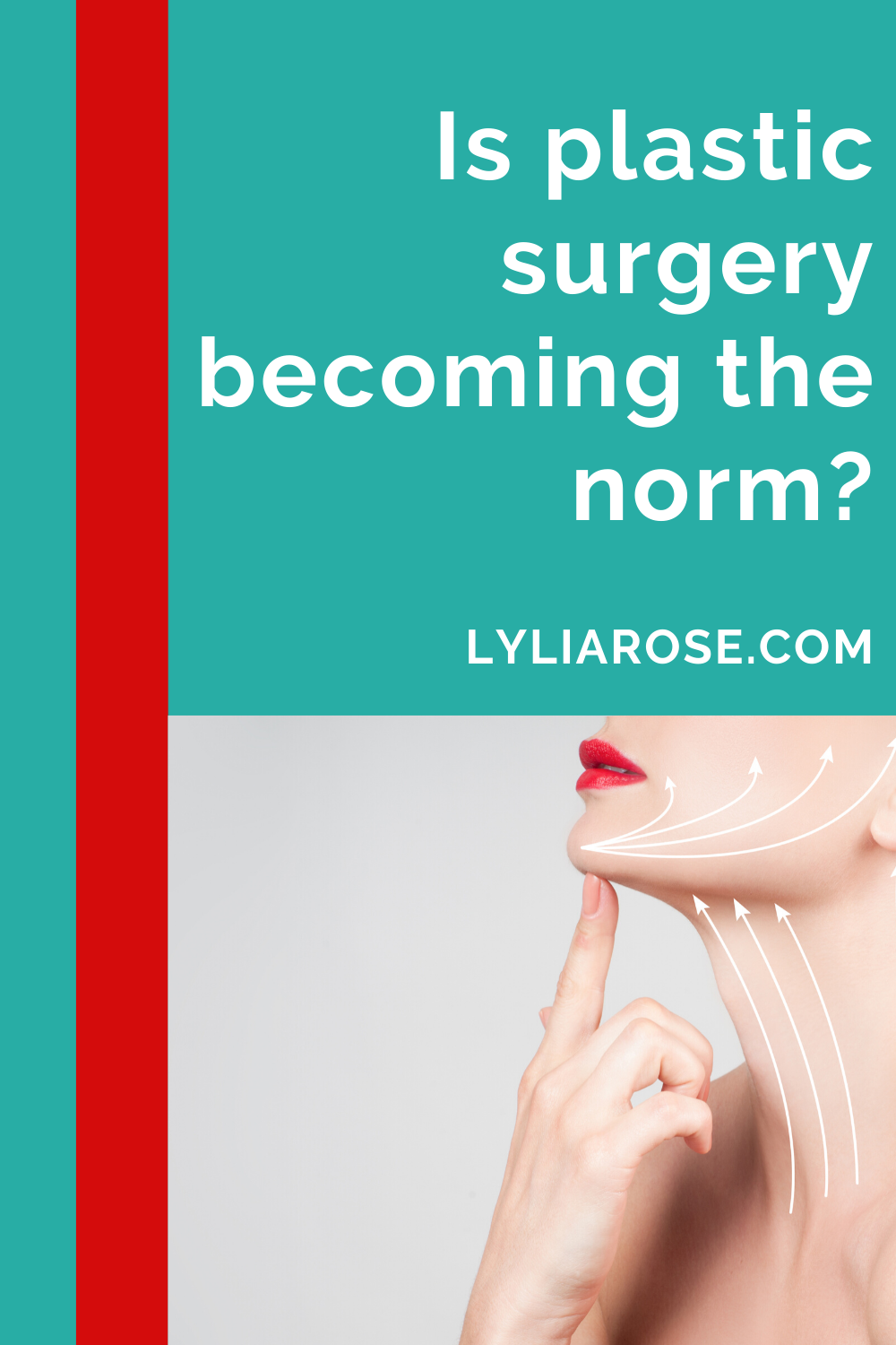 Is plastic surgery becoming the norm_