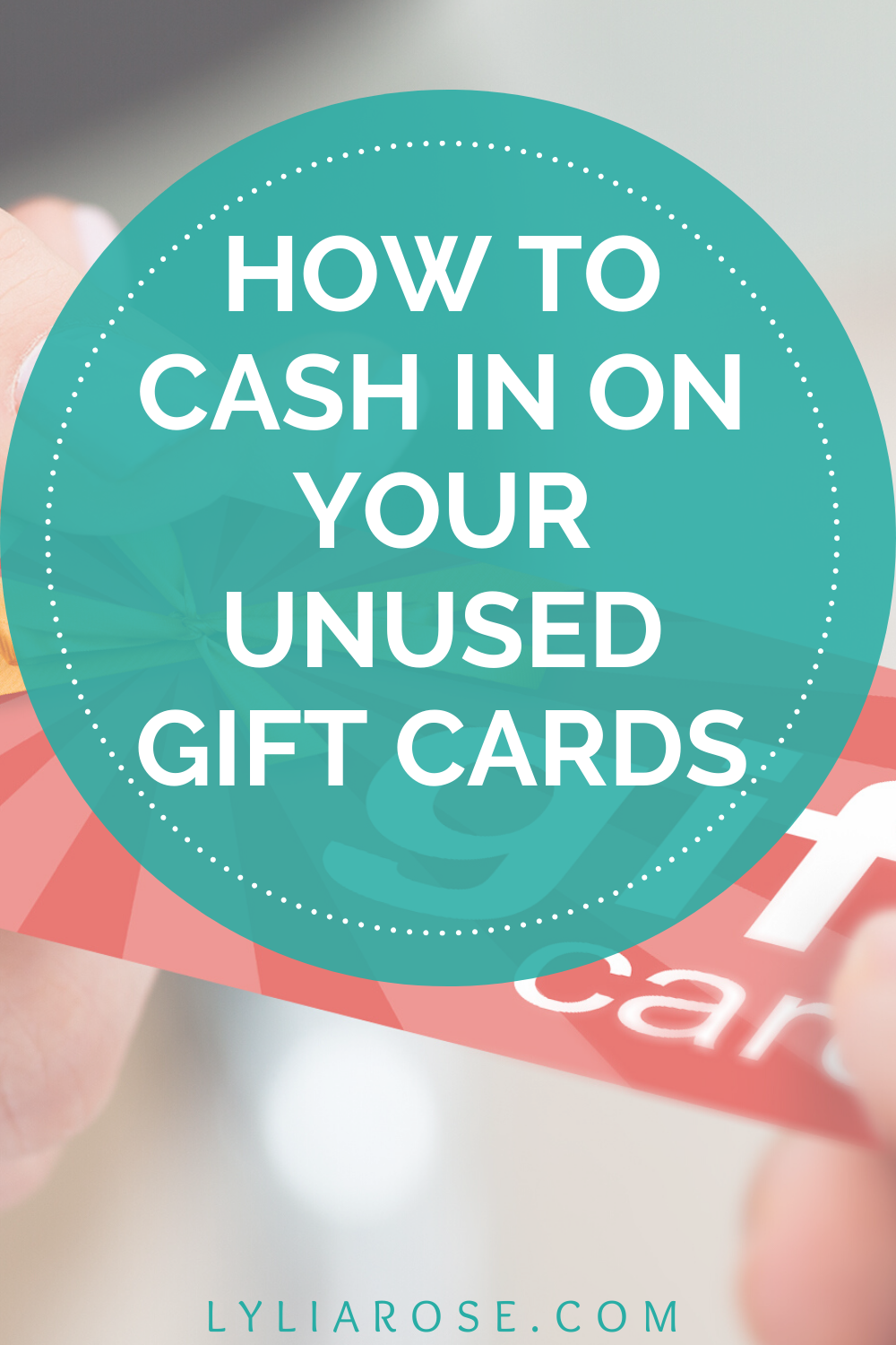 how to cash in on your unused gift cards