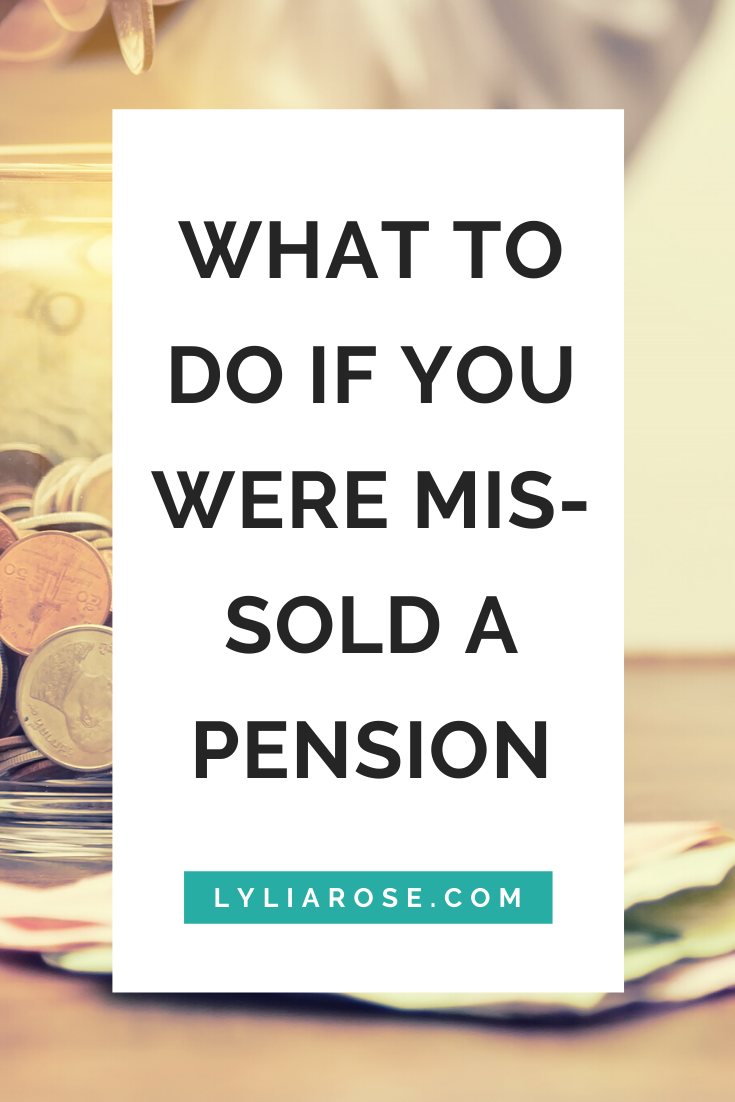 What to do if you were mis-sold a pension (1)
