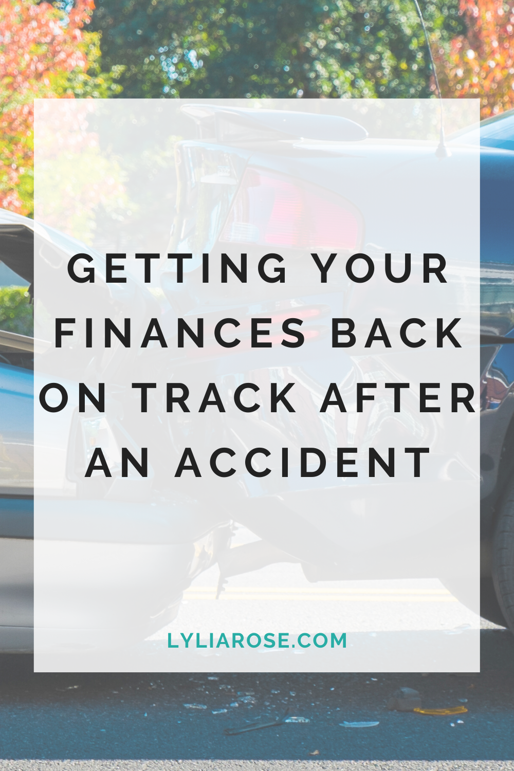 Getting your family finances back on track after an accident (1)