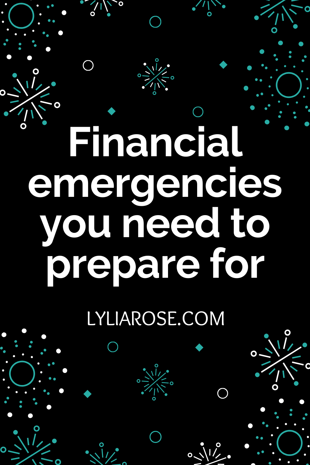 Financial emergencies you need to prepare for (1)