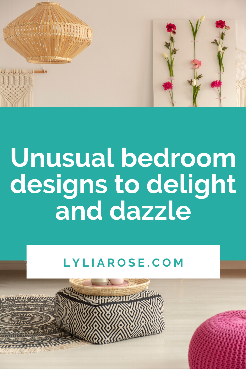 Unusual bedroom designs to delight and dazzle