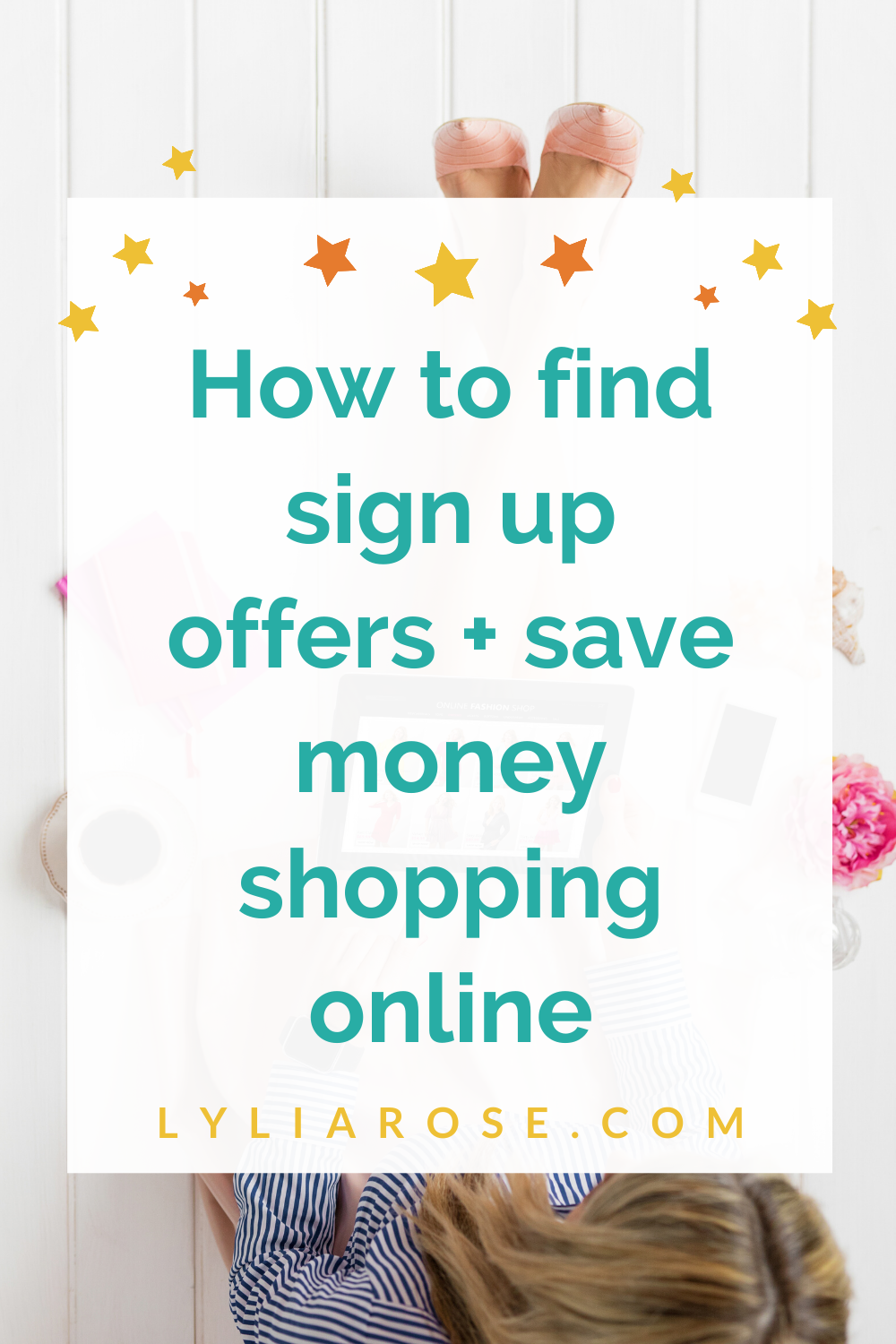 How to find sign up offers + save money shopping online (1)