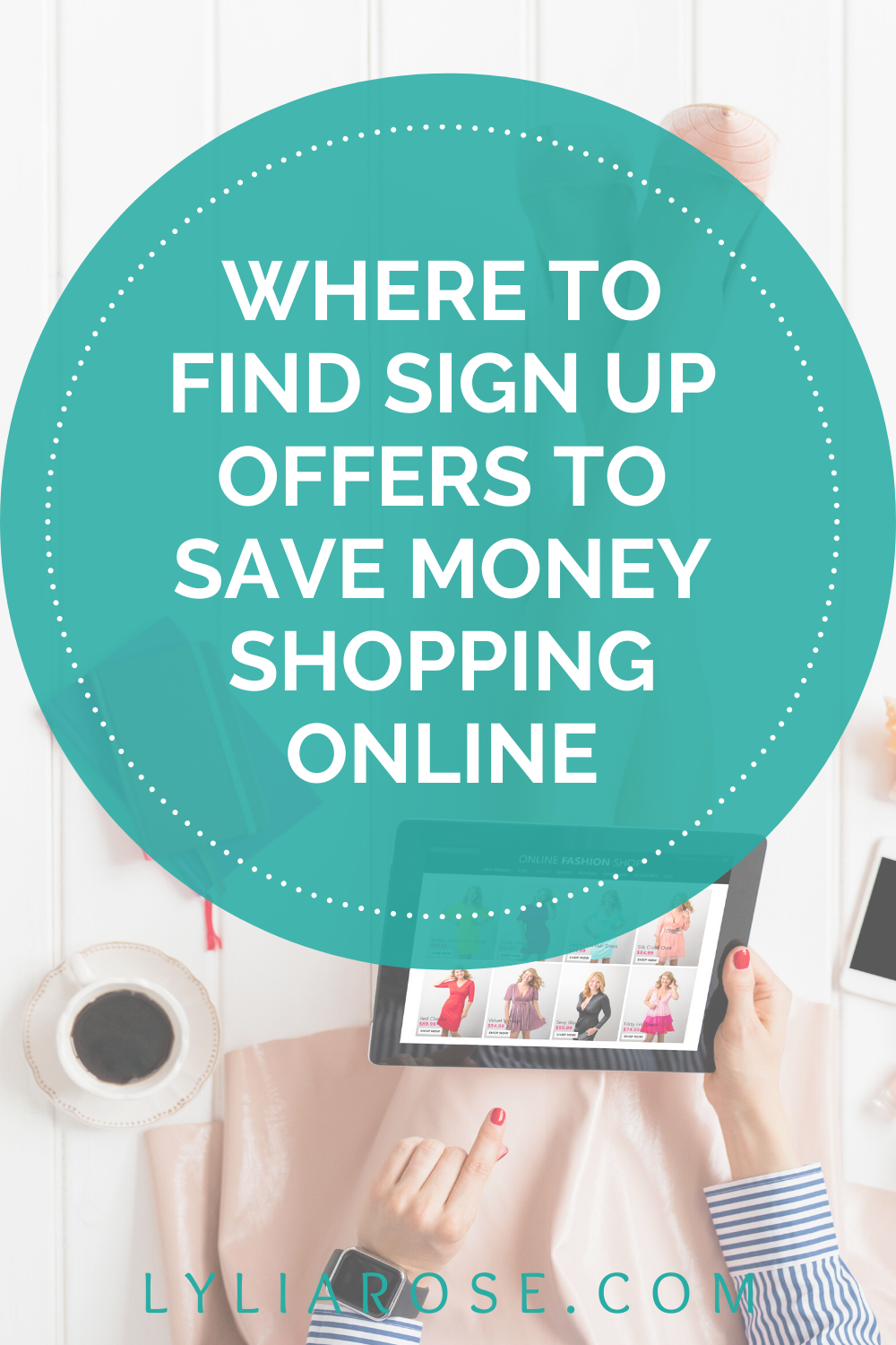 How to find sign up offers + save money shopping online (2)