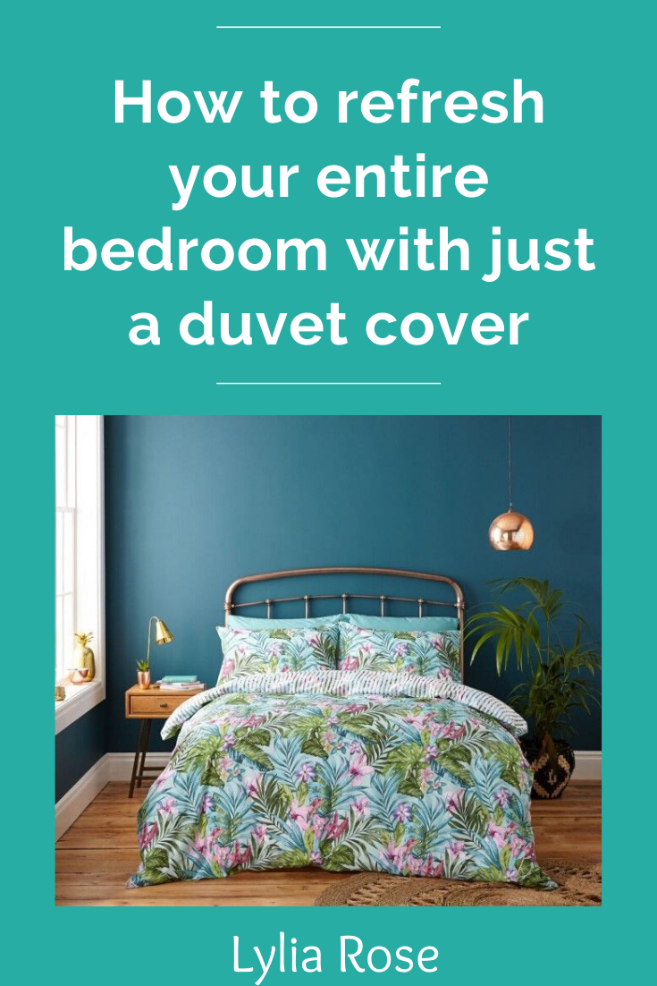 How to refresh your entire bedroom with just a duvet cover (1)