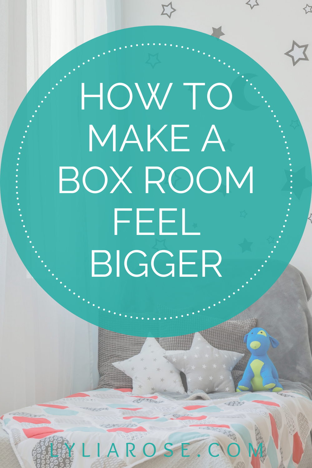 how to make a box room feel bigger