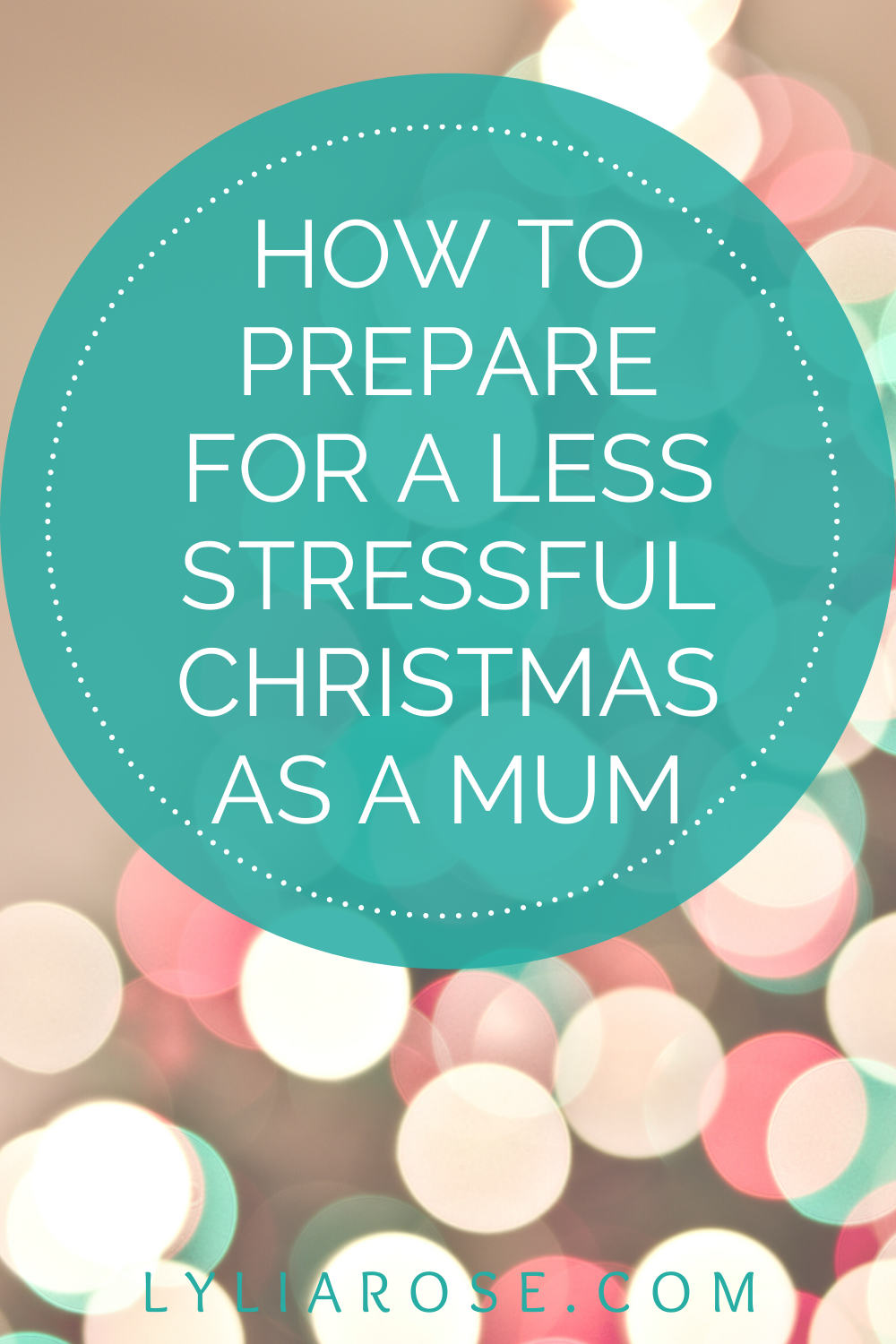 How to prepare for a less stressful Christmas as a mum (2)
