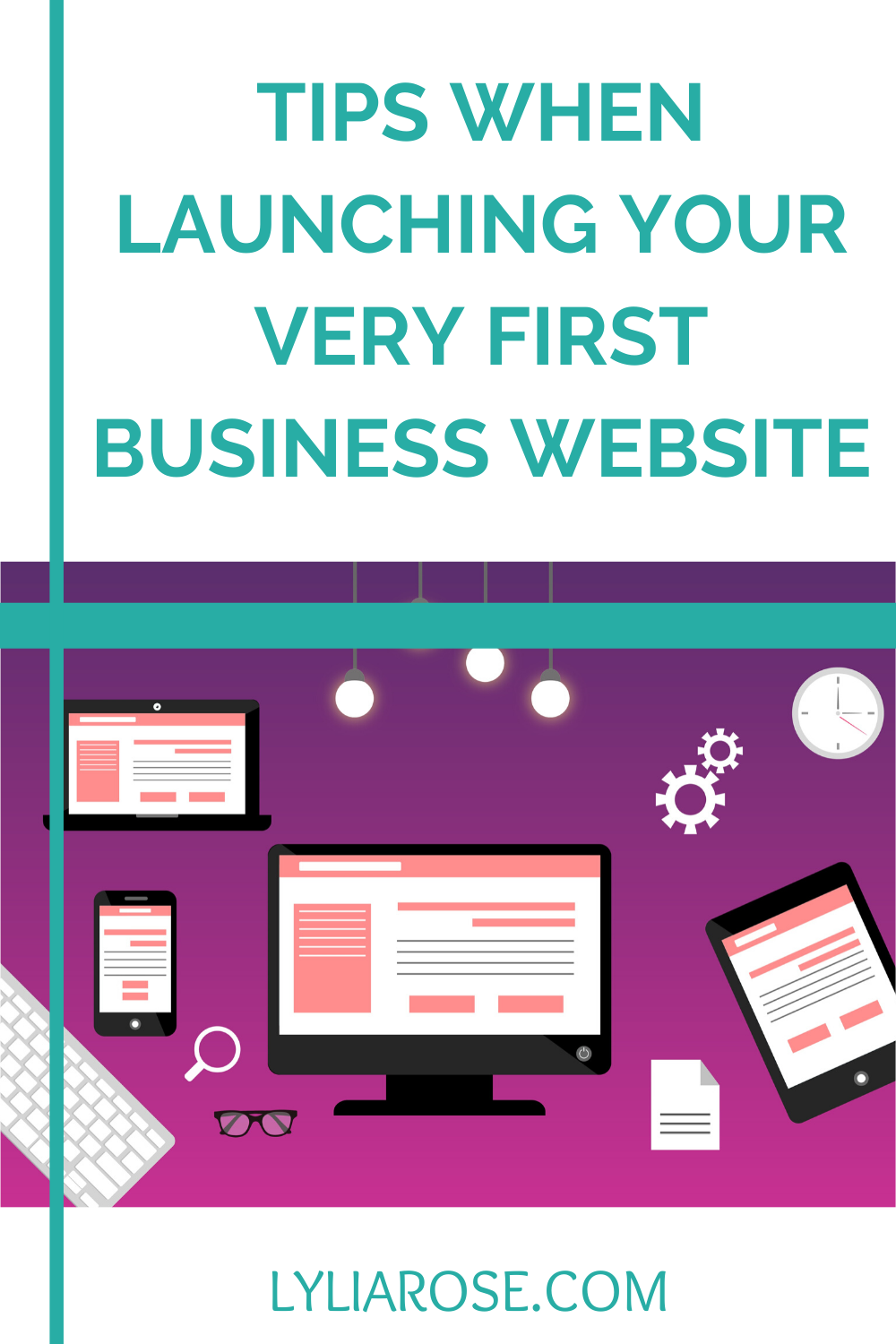 Tips when launching your very first business website (2)