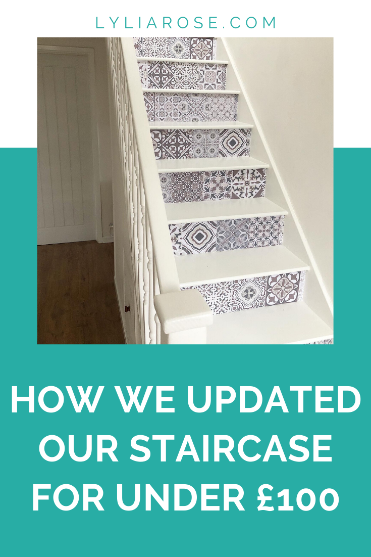 How we updated our entire staircase for under £100