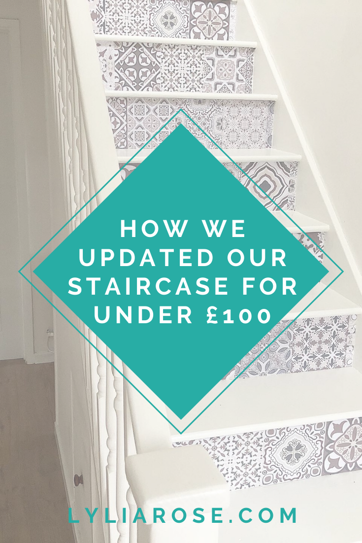 How we updated our staircase for under £100 (1)