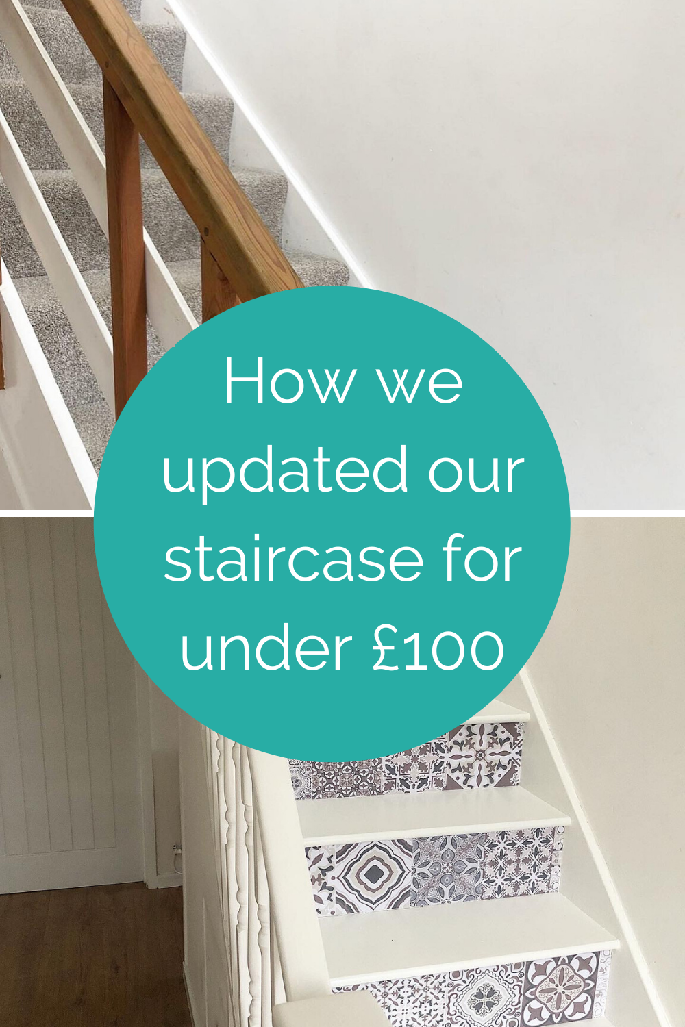 How we updated our staircase for under £100 (2)