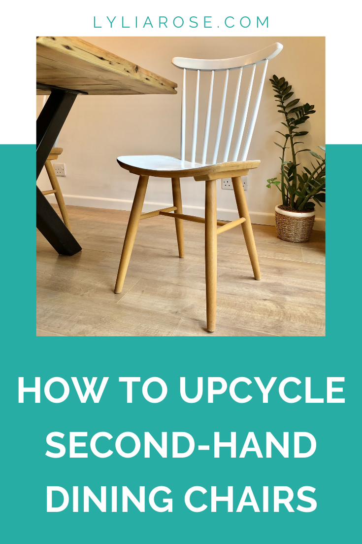 How to save money and upcycle second-hand dining chairs (2)