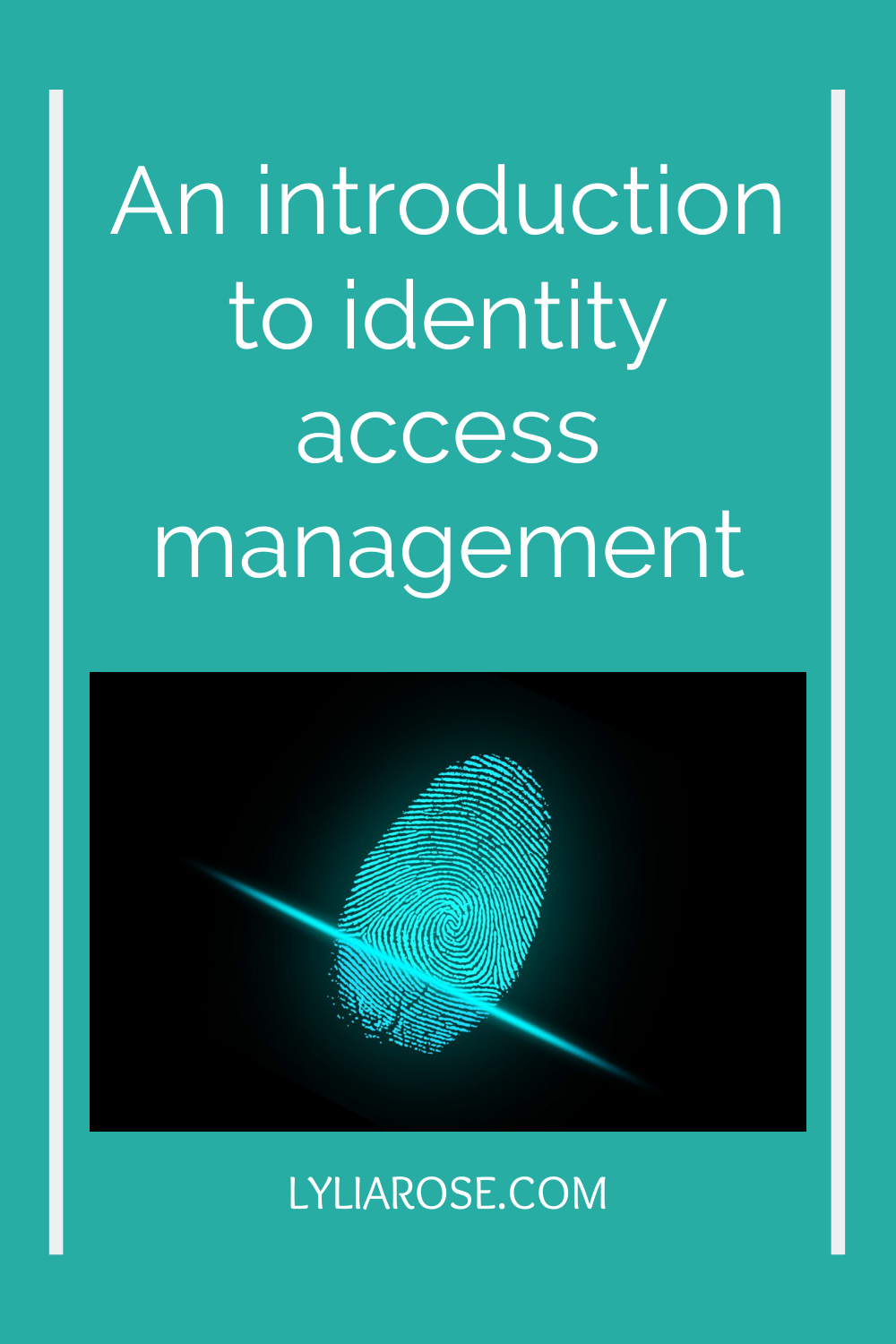 An introduction to identity access management