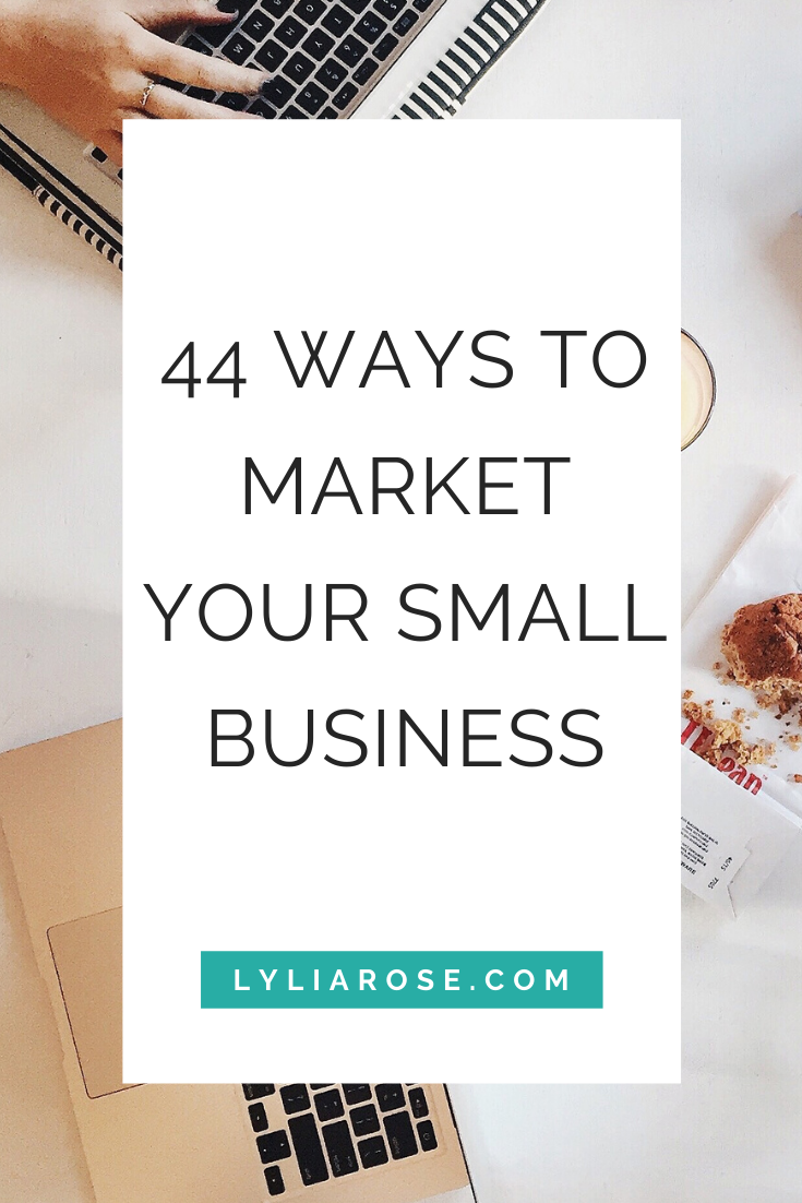 44 ways to market your small business (1)